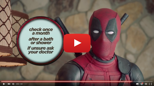 Deadpool om testikelcancer